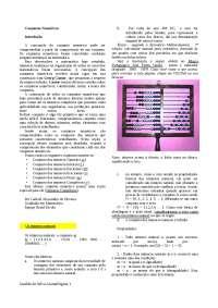 Introdução a Conjuntos Numéricos - Conjuntos Numéricos - Álgebra