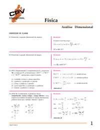 O que é Analise Dimensional - Análise Dimensional - Mecânica