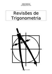 Apostila sobre Triângulo Retângulo - Triângulo Retângulo - Trigonometria