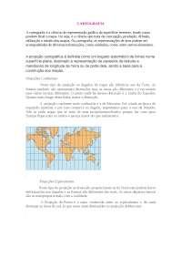 Teoria sobre CARTOGRAFIA - Cartografia - Geografia Global