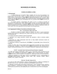 Apostila sobre Geografia do Brasil - Geral - Geografia Brasil