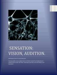 human psychology and use of senses