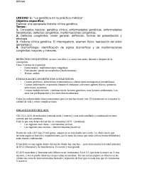 Genetica generale appunti spagnolo
