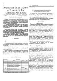 PLantilla del formato IEEE, para elaboración de trabajos escritos bajo esa norma