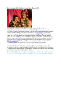 Matrimonio en la india como funciona