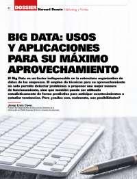 Big Data: usos y aplicaciones
