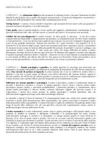 Riassunti di Elementi di psicologia giuridica e deontologia - unito