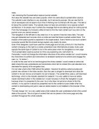 website review UI/UX