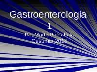 gastroenterologia (pedras na vesícula)