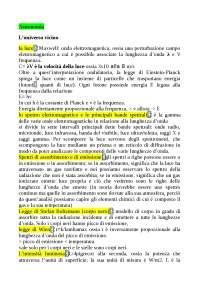 riassunto di astronomia per il liceo (linguistico)