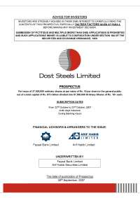 prospectus pdf guideline