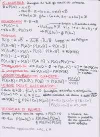 Appunti Calcolo della probabilità