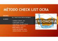 Método check list ocra
