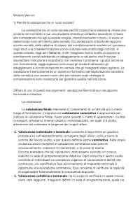 Domande di esame Progettazione e Valutazione scolastica Guerra e Vannini 2018