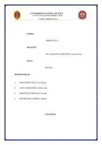 Informe de Sifones (UNJ)