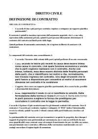 diritto civile - riassunto di diritto civile - schema di diritto civile