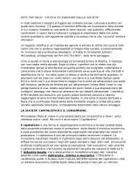 Into the wild - tesina maturità liceo linguistico