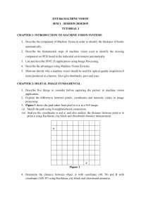 machine vision tutorial