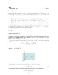 Problema 18 de Cinemàtica. Solució proposada pels Drs. J. Calsamiglia i E. Bagan