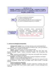 Три лекции по предмету Информационные технологии для студентов  на узбекском языке, Конспекты лекций из Современные информационные технологии