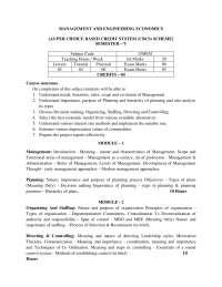 syllabus of mechanical engg 5th sem