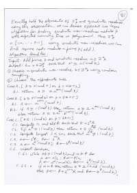 Randomized Advance Algorithms