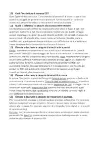 primo capitolo risposte domande crittografia e sicurezza delle reti- stallings