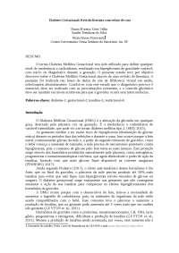 Diabetes gestacional: Revisão literária com relato de caso