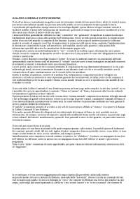 Mediologia - Analisi sito web museale: Galleria Comunale d'Arte Moderna