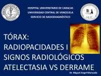 Radiopacidades 1Parte de la medicina que estudia las aplicaciones y los efectos de las radiaciones y las sustancias radiactivas, especialmente los rayos X y el radio,