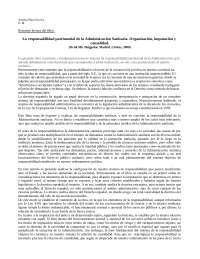 Trabajo sobre libro lectura Derecho Administrativo II