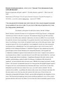 relazione pedagogia