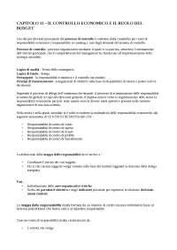 capitolo 11 programmazione e controllo - Arcari