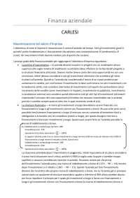 Finanza aziendale - G. Mariani e A. Scarfò