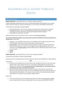 Ragioneria delle aziende pubbliche - RAGAP - I. Cavallini