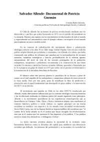 Allende comentario de texto