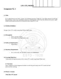 Data Mining and warehousing lab manual