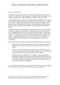 Tema 2, sistema judicial español