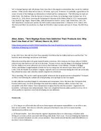 Multitasking - 5 readings on the topic