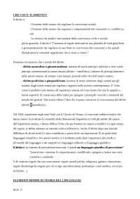 Teoria generale e metodi del diritto - appunti prof. Forni
