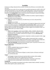 Elementi e Patologie Pediatriche