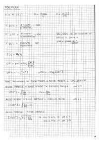 formulario chimica analitica