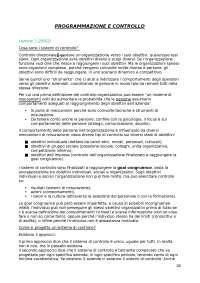 Dispensa Programmazione e controllo (Sistemi di controllo)