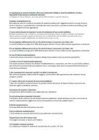 Test diritto amministrativo Unipegaso