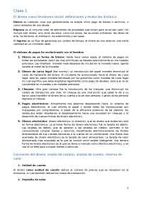 Economia monetaria first chapters