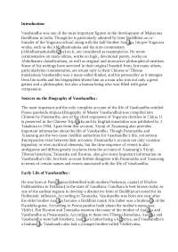 Vasubandhu- Life, Work, Contribution.