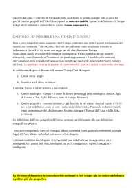 Storia Minima d'Europa, prof. Andrea Zannini (UNIUD)