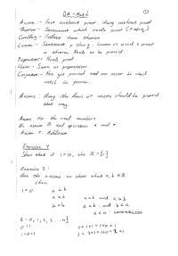 BA Lecturers Notes 2nd Year