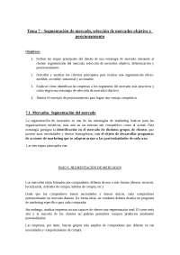 TEMA 7 MARKETING TURISTICO