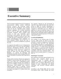 Executive Summary Executive Summary
